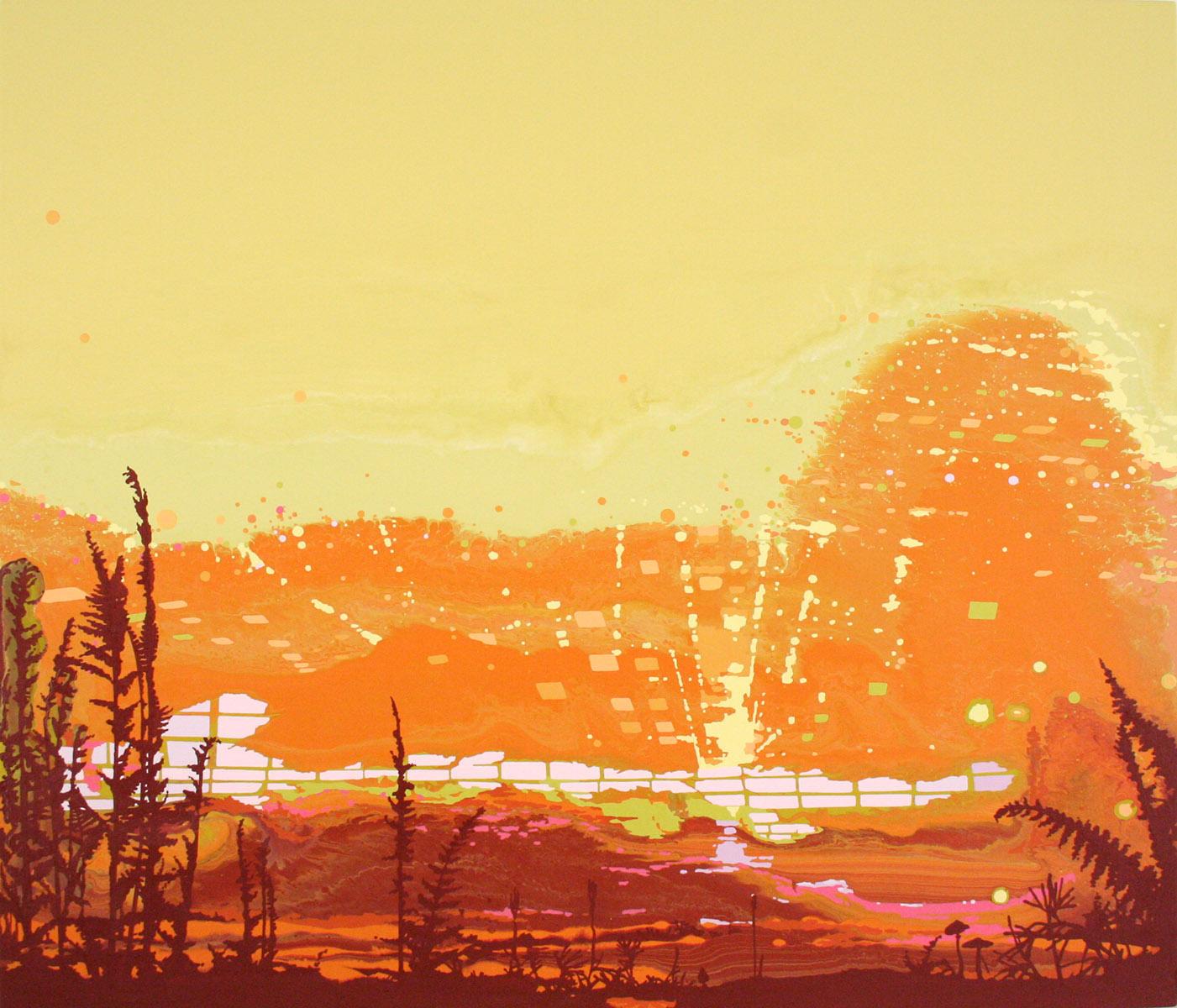 M Swanson Artist Recent Work - Painting...